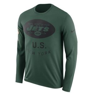 NY Jets Salute to Service Performance Long Sleeve